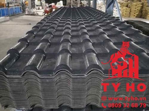 Cấu tạo tôn nhựa PVC 7 sóng ngói