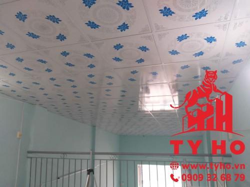 Tấm trần nhựa PVC do Tỷ Hổ cung cấp