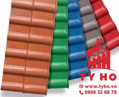 Màu sắc tôn nhựa pvc