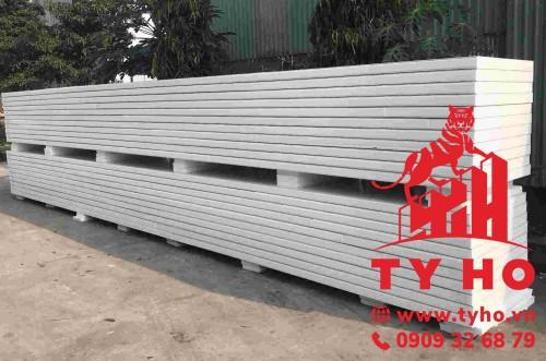 Panel EPS kho lạnh dày 100mm