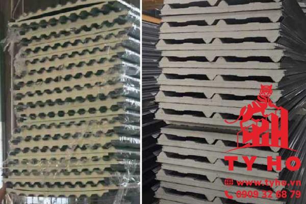 Tôn cách nhiệt PU Đông Á, tôn xốp PU 3 lớp cách nhiệt chống nóng